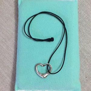 Tiffany & Co. Silver Heart Necklace